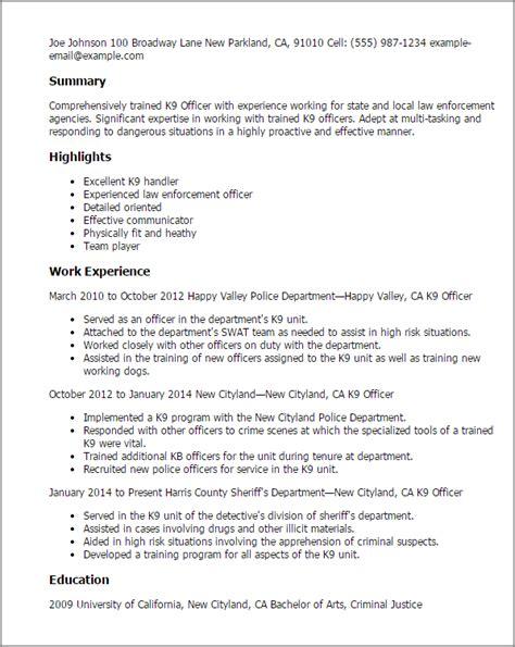 Dog Handler Cover Letter Sample Resume Builder / DEPOSITS-WILLED.GA